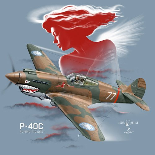 P-40C Flying Tigers